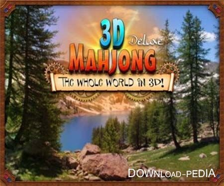 �������: ������ ��� � 3D / Mahjong Deluxe: The Whole World in 3D (2012/PC/Rus)