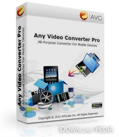 Any Video Converter Professional v3.3.8