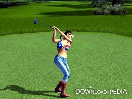 ultra mini 3D golf / мини гольф на комп ( PC /RUS/ 2012)