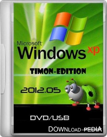 Windows XP SP3 TimON-Edition 2012.05 (DVD/USB/2012/RUS)