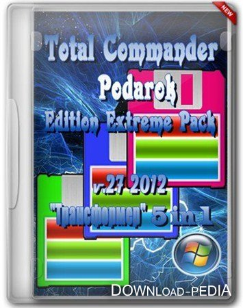 Total Commander Podarok Edition Extreme Pack v.27 2012