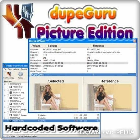 Hardcoded Software dupeGuru Picture Edition 2.6.0
