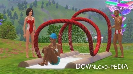 ���� 3: ���� ����� ������� ������� / The Sims 3: Katy Perrys Sweet Treats (2012/RUS/ENG)