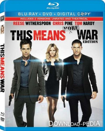 Означает, война / This Means War [UNRATED] (2012/HDRip)