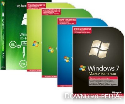 Windows 7 Sp1 5in1 ie9 X6 6.1 (сборка 7601: Service Pack 1) [Русский]