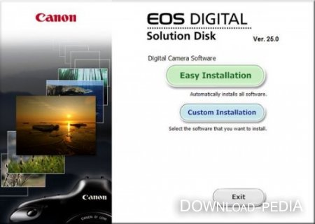 Canon EOS DIGITAL Solution Disk 25.0 x86 [2012]