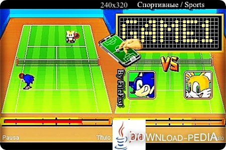SEGA SuperStars Sonic Tennis / ������ � �������