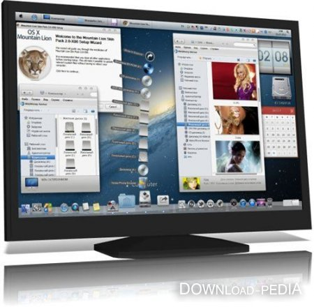 Mountain Lion Skin Pack 2.0 for Windows 7 x32/x64