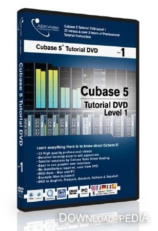 ����� ����� ASK Video - Cubase 5 tutorial �.1 �� ������� �����.