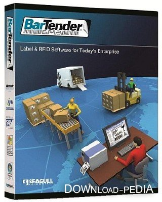 BarTender Enterprise Automation 10.0 SR1 Build 2845 [Rus / Eng] + Crack