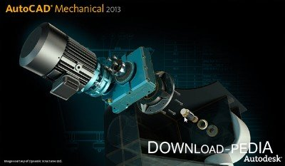Autodesk AutoCAD Mechanical 2013 SP1 x86-x64 RUS-ENG (AIO) by m0nkrus + Serial