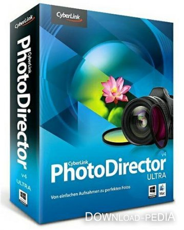 Cyberlink PhotoDirector 4 Ultra 4.0.3306 Portable by SamDel Rus