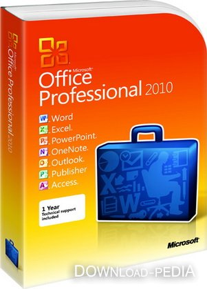 Microsoft Office 2010 14.0.6123.5001 [2010, ENG + RUS]