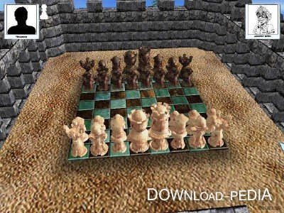 ����� � ������� 3D / Checkers and chess 3D (2004/PC/Rus)