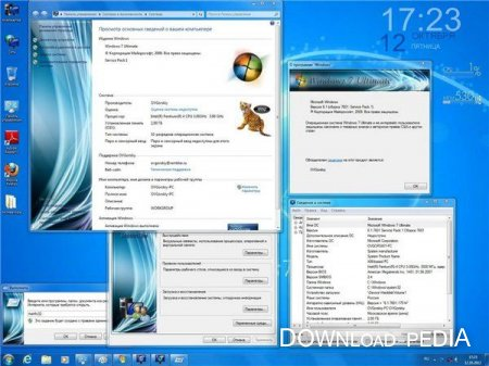 Microsoft Windows 7 Ultimate Ru x86 SP1 7DB by OVGorskiy� 10.2012