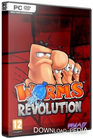 Worms Revolution v1.0 (0077) (2012/Rus/Eng/Multi7/PC) Repack �� R.G. Catalyst