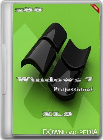 Windows 7 Professional XL9 (x86/RUS/2012)