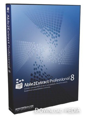 Able2Extract Professional 8.0.23 Portable