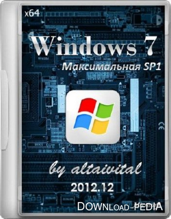 Windows 7 ������� ������������ SP1 by altaivital 2012.12 (x64/RUS)
