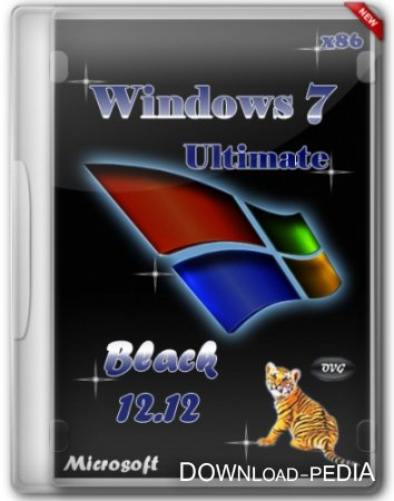 Windows 7 Ultimate SP1 x86 Black by OVGorskiy� v.12.12 [2012, ������� �������]