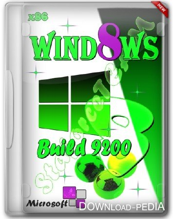 Windows 8 Build 9200 x86 (RU/EN/DE) 15/01/2013 � StaforceTEAM