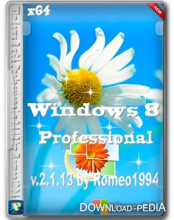 Windows 8 x64 Professional v.2.1.13 by Romeo1994 (2013/RUS)