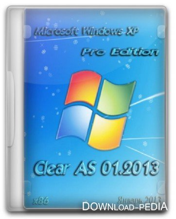 Windows XP Professional SP3 Clear AS 01.2013