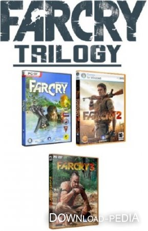 Трилогия Far Cry (2004-2012/Rus/PC) RePack by DangeSecond