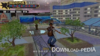 Tony Hawk's Underground 2: Remix для оф прошивки 6.31 - 6.60 (PSP/2006/ENG)