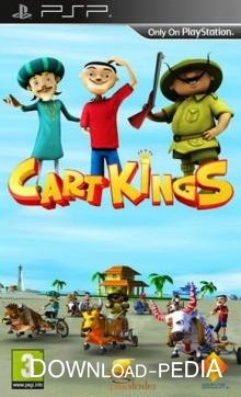 Cart Kings (All CFw) (2013/PSP/ENG)