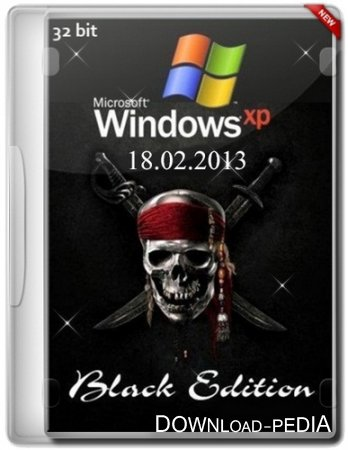 Windows XP Professional SP3 Black Edition x86 (18.02.2013) [2013] [ENG + RUS]
