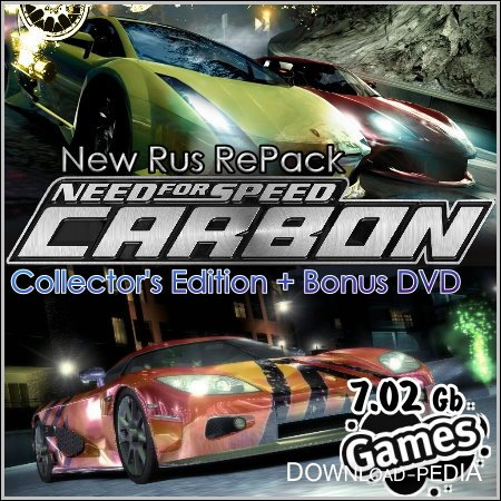 Need for Speed. Carbon - Collector's Edition + Bonus DVD (New Rus RePack)