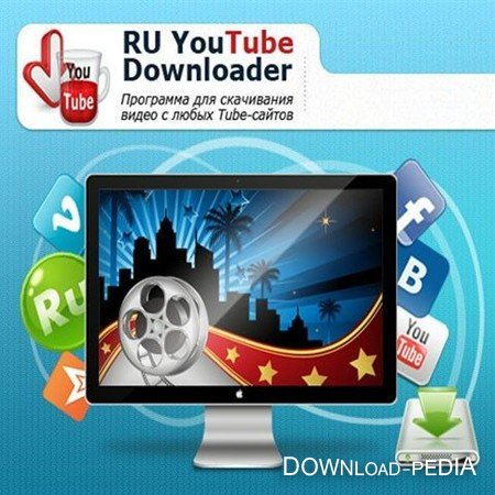 RU YouTube Downloader 1.43 (RUS)