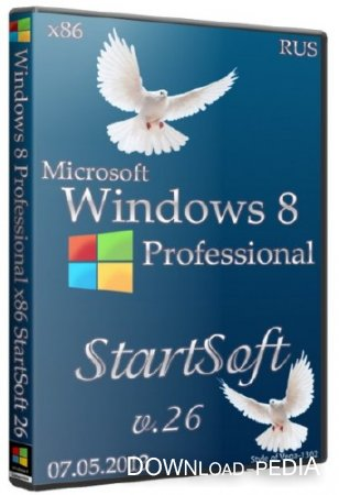 Windows 8 Professional x86 StartSoft v.26 (2013/RUS)