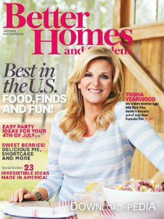 Better Homes and Gardens USA – July (2013)