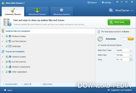 Wise Disk Cleaner 7.87 Build 557 Portable