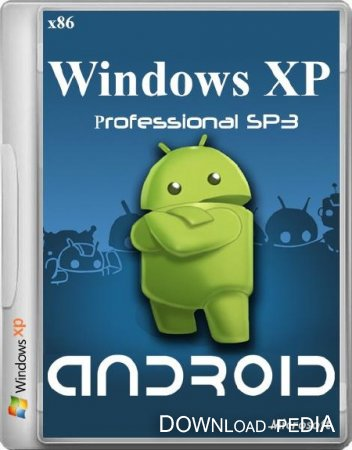 Windows XP �rofessional SP3 Android (x86/ML/ENG/RUS/2013)