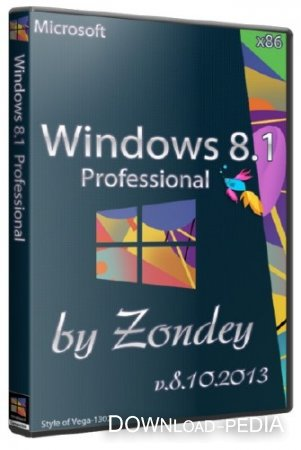 Windows 8.1 Professional x86 v.8.10.2013 by zondey (RUS/2013)