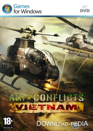 Air Conflicts: Вьетнам / Air Conflicts: Vietnam (2013/RUS/ENG/MULTI7/RePack by R.G.Catalyst)