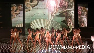 Lady Gaga - Venus & Do What U Want (Live @ The X Factor UK) (2013) HDRip 720p