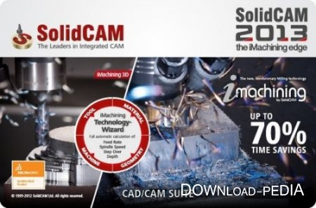 SolidCAM 2013 SP4 Multilanguage for SolidWorks 2011-2014 x86+x64 Multi