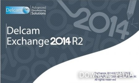 Delcam Exchange 2014 R2 SP1 (CR 7.5.1005) x86+x64 (2013) Multi