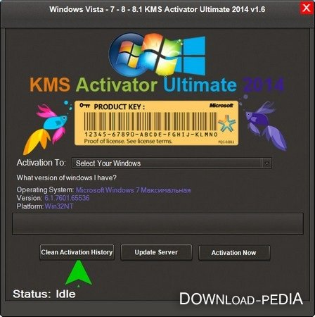 KMS Activator Ultimate 2014 v1.6