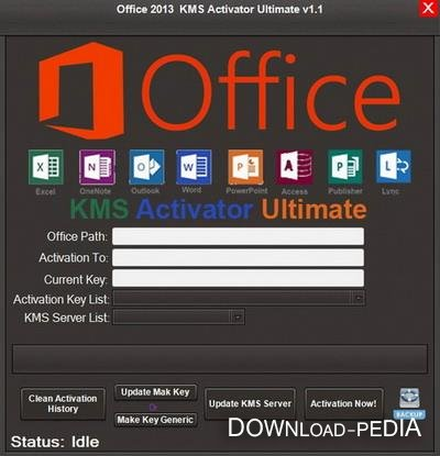 Office 2013 KMS Activator Ultimate 1.1 + Portable